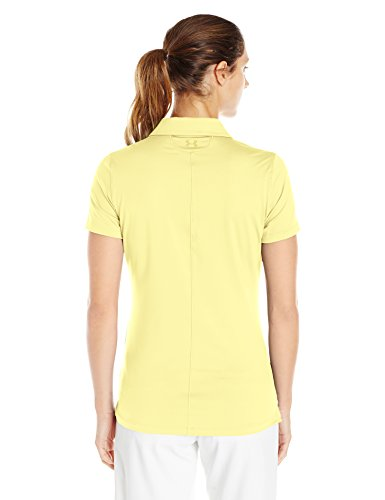 Under Armour Damen Poloshirt gelb (Yellow Soul Light Heather/Yellow Soul)