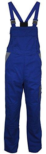 Carson: Latzhose Contrast - Untersetzte Größen CC 726, Größe:26;Farbe:Blue/Grey