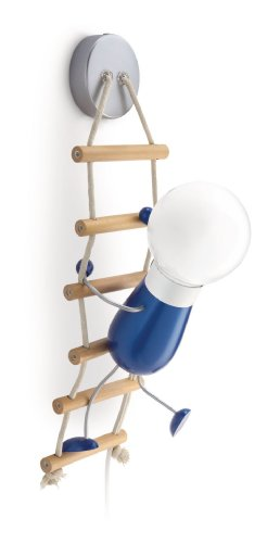 Philips lighting 455025516 philips climbo lampada da parete per la cameretta 12 w, multicolore, 50 x 12.5 x 14