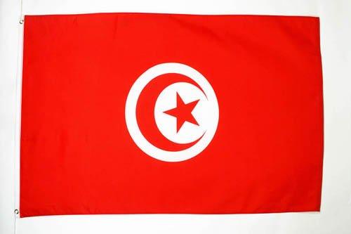 Az flag bandiera tunisia 150x90cm - bandiera tunisina 90 x 150 cm