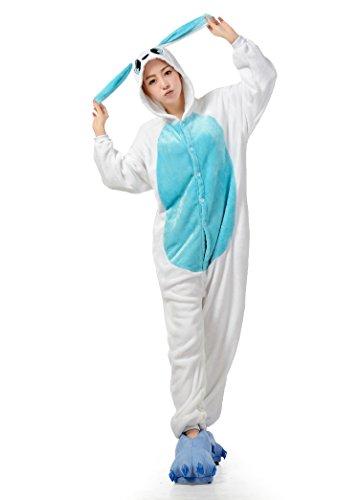 Cliont Tier Onesie Niedliche Kaninchen Pyjamas Kigurumi Weihnachten Nachtwäsche Kostüm Anime (Damen Kostüme Niedliche)