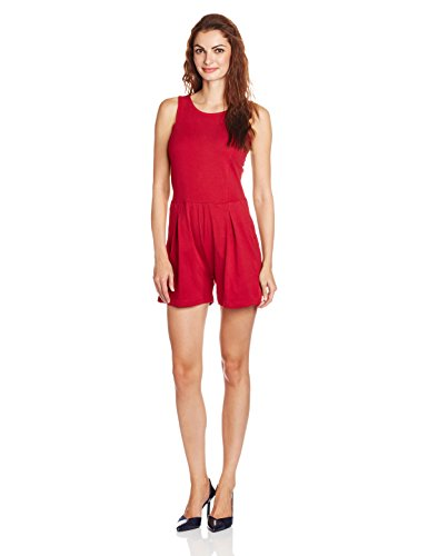 People Women's Cotton Playsuits