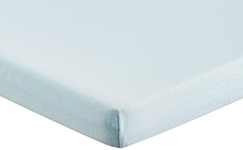Nicolientje 703944 Wickelauflagenbezug Jersey, 50 x 70 cm, blau -