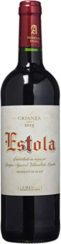 Estola Vino Tinto Crianza D.O. La Mancha, Bt Cristal 75 Ctl