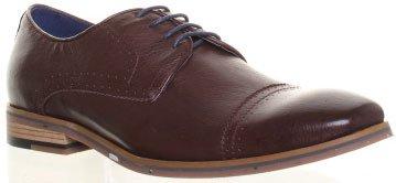 Justin Reece  ELTON, Chaussures de ville à lacets pour homme Marron - Coffee