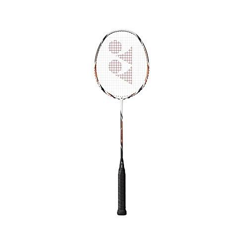 Yonex Arcsaber 6 Racquet, 5U G4 (White/Orange)  available at amazon for Rs.5999