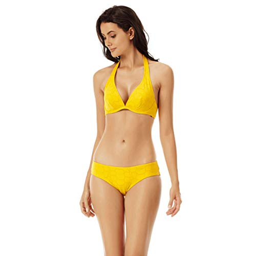 Vilebrequin - Bedeckende Ecailles de Tortue Bikinihose für Damen - Mango - L