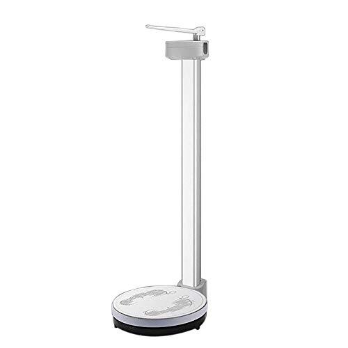 Xyl precisione bilancia digitale, altezza e peso scala, bilancia fascio elettronico, display ad alta definizione led, misuratore di altezza 83-210 cm, peso 200 kg