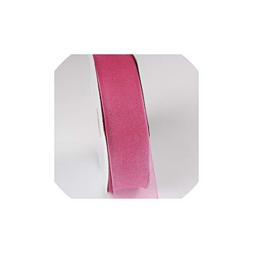 10 tester/lotto del filato della neve nastri di raso fai da te seta artificiale rose articoli etnici materiali del nastro del grosgrain scrapbooking materiale organza, 0028,6mm