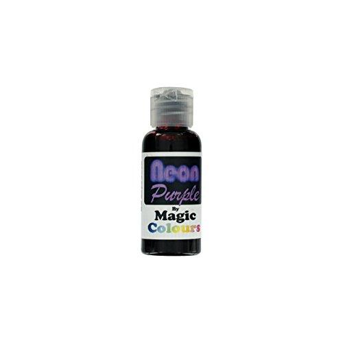 Magic Colours NEON Purple - NEON PURPLE 32 g Pastenfarbe (Neon-lebensmittelfarbe)