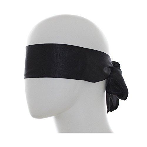 Utimi BDSM Augenmaske Maske Augenbinde Fetisch Bondage Sex Spielzeug Schwarz für Paar Bett Fesseln für Weihnachten