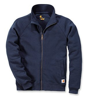 carhartt-da-uomo-pesantezza-media-collo-alto-cerniera-frontale-da-felpa-new-navy-large