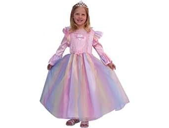 Deguisement princesse arc en ciel 4 ans