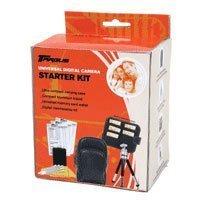 Targus Universal Digital Kamera Starter-Kit mit Schutzhülle, Stativ und Pflege Kit Universal Memory Card Wallet