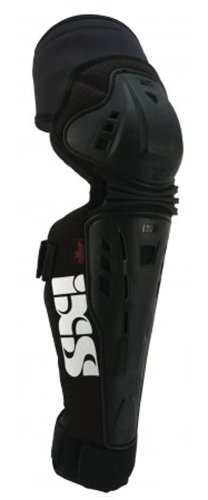 IXS Erwachsene Knee/Shin Guard Assault, Black, L, IX-PRT-8855