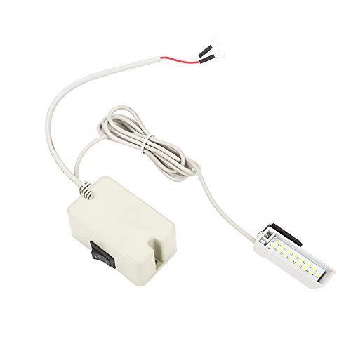Delaman Arbeitslicht - Super helle LED-Nählicht-Tischlampe mit 15 LEDs, Nähmaschinen-Zubehör