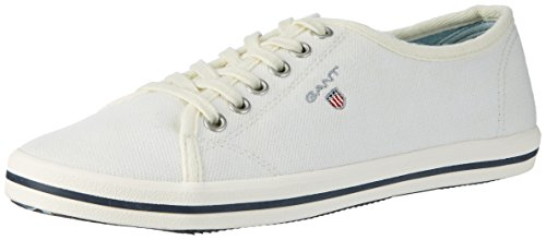 Gant Ladies New Haven Sneaker Beige (bianco)