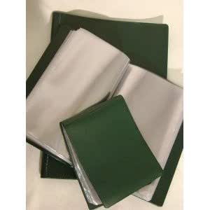 Pochette Porte Document Nyrex Vert Armee Format A6 40 Page