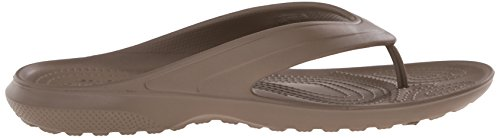 Crocs Classic, Tongs - Mixte adulte Marron (Walnut)