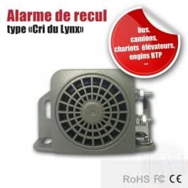 Alarme de recul type cri du Lynx 12-24 Volts