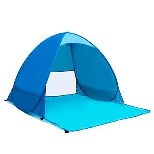 Instant-canopy Zelt (Strandzelt Leichtes tragbares Pop Up Sonnenschirm Strandzelt UV-Schutz 2 Person Kinder Baby Sun Shelter Automatisches Instant Family Canopy Zelt für Camping Angeln Wandern Picnicing Ultralight Canopy)