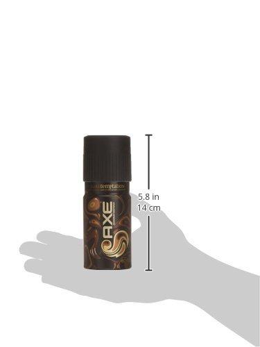 official photos bb5b2 b9f8e AXE DARK TEMPTATION desodorante vaporizador 150 ml, paquete de 2 unidades