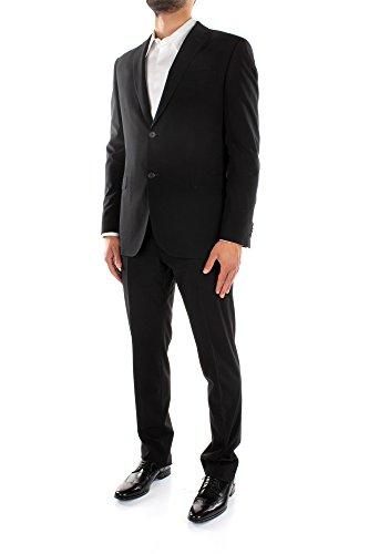 2DMNGN3509002NERO Zegna Costumes Homme Laine Noir Noir