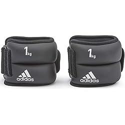 adidas Pesas de Tobillo/Muñeca - Negro, 1 kg