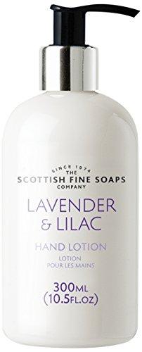 Scottish Fine Soaps lavande et lilas lotion pour les mains 300ml Flacon pompe