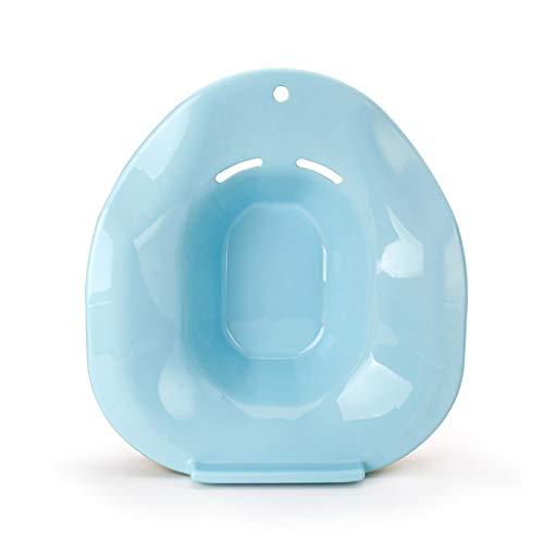 Lindern Juckreiz (Ckssyao Pflegebecken für Schwangere nach der Geburt, sauber und hygienisch, kann Schmerzen, Juckreiz und Beschwerden im Perineum-, Anus- oder Genitalbereich lindern,Blue)