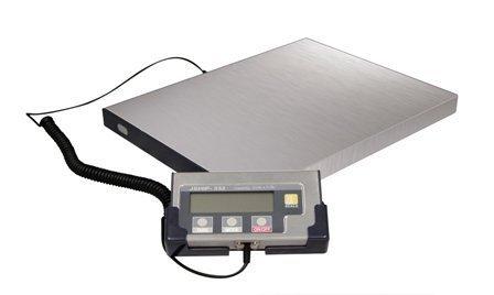 Aunque diseñado para uso industrial pesado, la escala es ligera y muy fácil de transportar o mover.También puede ser montado para la seguridad. Libre de enchufe en una toma de corriente (adaptador AC incluido) o se puede utilizar con 4x pilas de tam...