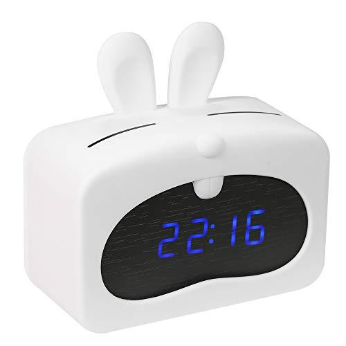 Decdeal Mini LED Despertador Digital
