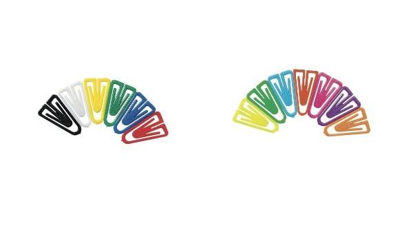 Laurel Trombones Plastiklips 35 Mm Color/é Paquet de 1000