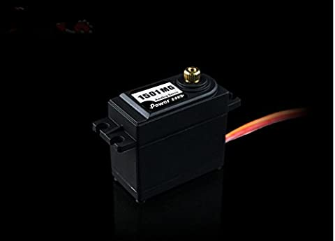 Junsi Power puissance HD 1501MG Copper Gear Servo 17KG 25T High-Torque Parts for RC Cars Buggy