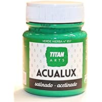 Industrias Titan. S.L 920857 - Pintura manualid. acril. 100 ml ver/hie satin. acualux titan