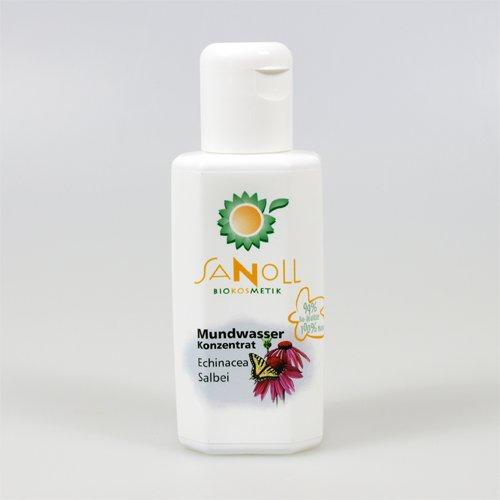Sanoll Mundwasser Echinacea-Salbei im Test