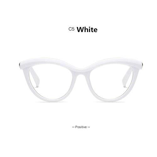 CAGSQ Sonnenbrillen Stereo Schneiden Brillen Männer Frauen Full Frame Myopie Schmetterling Verschreibungspflichtige Brillen Rack