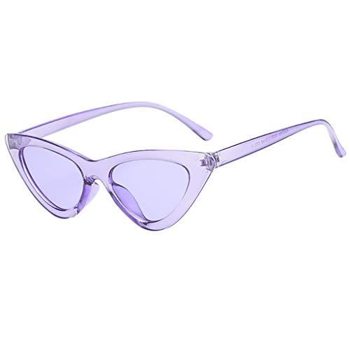 Makefortune Unisex-Sonnenbrillen Mode Vintage Sonnenbrillen Retro Eyewear Strahlenschutz