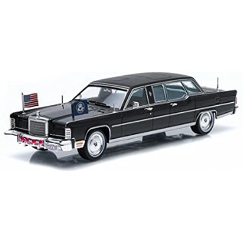 Lincoln Continental (R. Gerald Ford-1972) Diecast Model Car