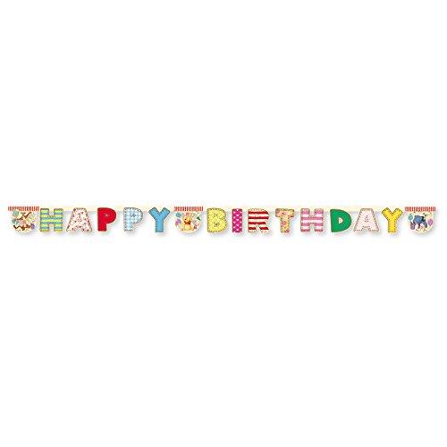 NEU Girlande Winnie Alphabet, Happy Birthday (Winnie The Pooh Themen Kostüme)
