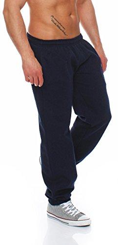 Hoppe Gennadi Herren Sporthose Trainingshose Jogginghose Pants Sweatpants,blau,X-Large -