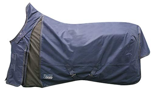 EQuest Outdoordecke Regendecke Nova Scotia 600D Rain Fleece 0 gr. (145 cm, Marine)