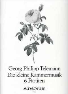 DIE KLEINE KAMMERMUSIK - 6 PARTITEN - arrangiert für Violine - Basso Continuo [Noten / Sheetmusic] Komponist: TELEMANN GEORG PHILIPP