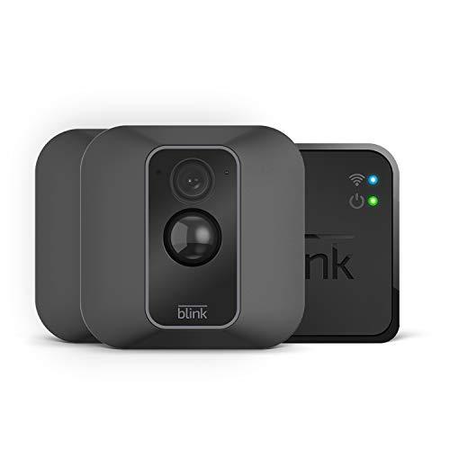 Blink XT2 - Smarte Sicherheitskamera| Für den Außen- und Innenbereich mit Cloud-Speicher, Zwei-Wege-Audio und 2-jähriger Batterielaufzeit | System mit zwei Kameras