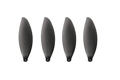 Yangers 4 Pair Two-Blade Propellers for Parrot ANAFI Drone, 8 Pieces Foldable Prop Blades for Parrot ANAFI 4K HDR Camera Folding Drone (Black)
