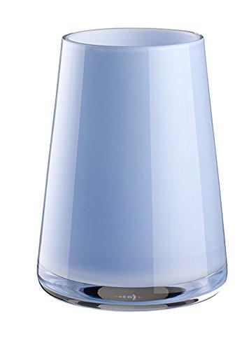 Villeroy & Boch 11-7257-0969 Numa Mini Vase Mellow Blue, Glas, Blau, 9 x 9 x 13 cm (Glas Mini Fliesen)