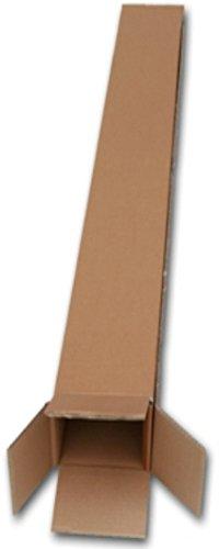 500lang Karton Verpackung Versandtaschen Boxen für Golf Clubs Holz Eisen Größe 12,7x 10,2x 124,5cm/127x 100x 1249mm Regenschirm GEHSTOCK Angeln Verpackung Versand Porto Post Kartons (Golf Outlet Club)