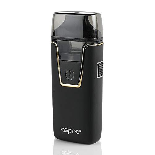 Original Aspire NAUTILUS AIO all-in-one Kit 4.5ml - 1000mAh Batterie/Top füllen/Eingebauter Verdampfer Enthält Kein Nikotin (Schwarz)