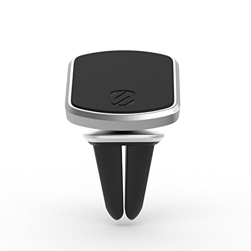 Scosche MagicMount Elite Vent Mount Handyhalterung zum Anbringen an der Autolüftung Silber Scosche Gps