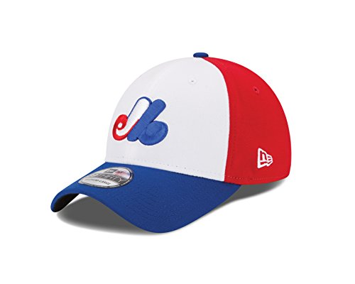 e3cfc063509d8 Montreal Expos New Era MLB 39THIRTY Cooperstown Team Classic Flex Fit Hat  Chapeau